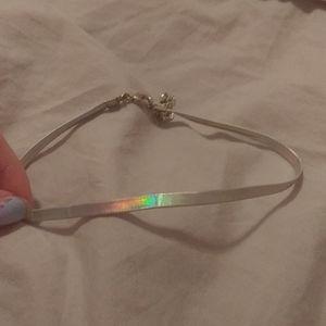 Girls small rainbow choker